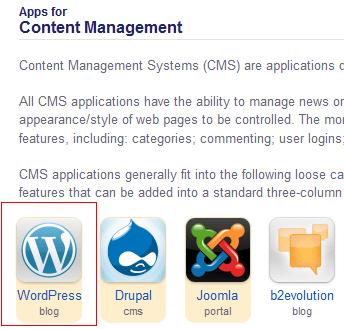 WordPress aplikacija